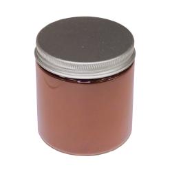 Färga betong röd - burk med rött färgpigment