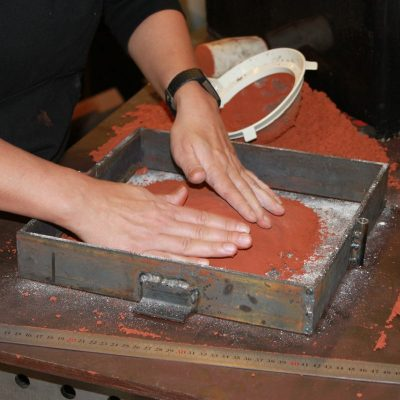 Gjuta metall i sand – Del 1